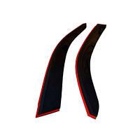 COBRA TUNING Дефлекторы окон на Nissan Almera (N16) '00-06 хэтчбек 3d (накладные)