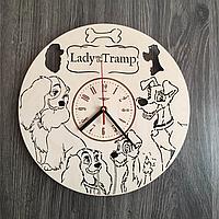 """Годинник настінний """"Леді та Блудько"""" CL-0229"""