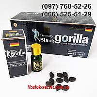 Препарат для потенции Black Gorilla- Черна Горилла, 10табл, фото 1