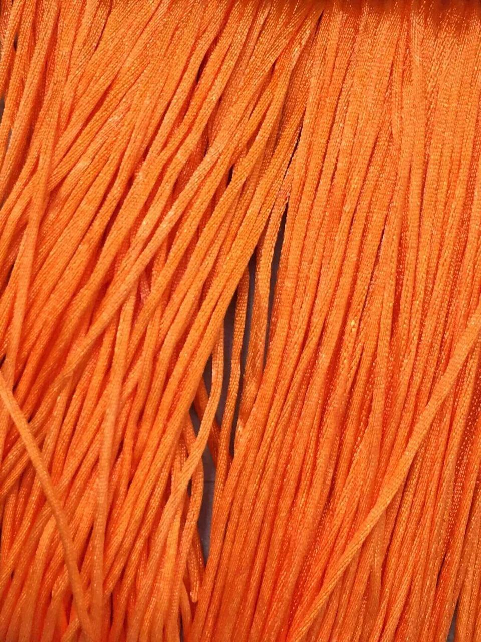 Шнур (оранжевый), нейлон, метр