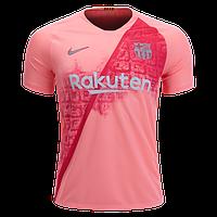 Футбольная форма Барселона (fc Barcelona) 2018-2019 выездная розовая, фото 1