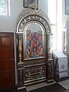 Церковний підлоговий кіот (1200х3200 мм), фото 3