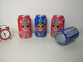 Куколки L.O.L. Surprise в банке Pepsi