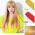 💛 Волосся на кліпсах заколках накладне жовте 💛, фото 10