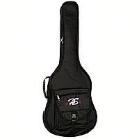 Чехол для акустической гитары FL-WG41 Black с утеплителем 15мм.