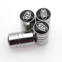Колпачки на ниппель колеса модельные KIA (Комплект 4 шт.)
