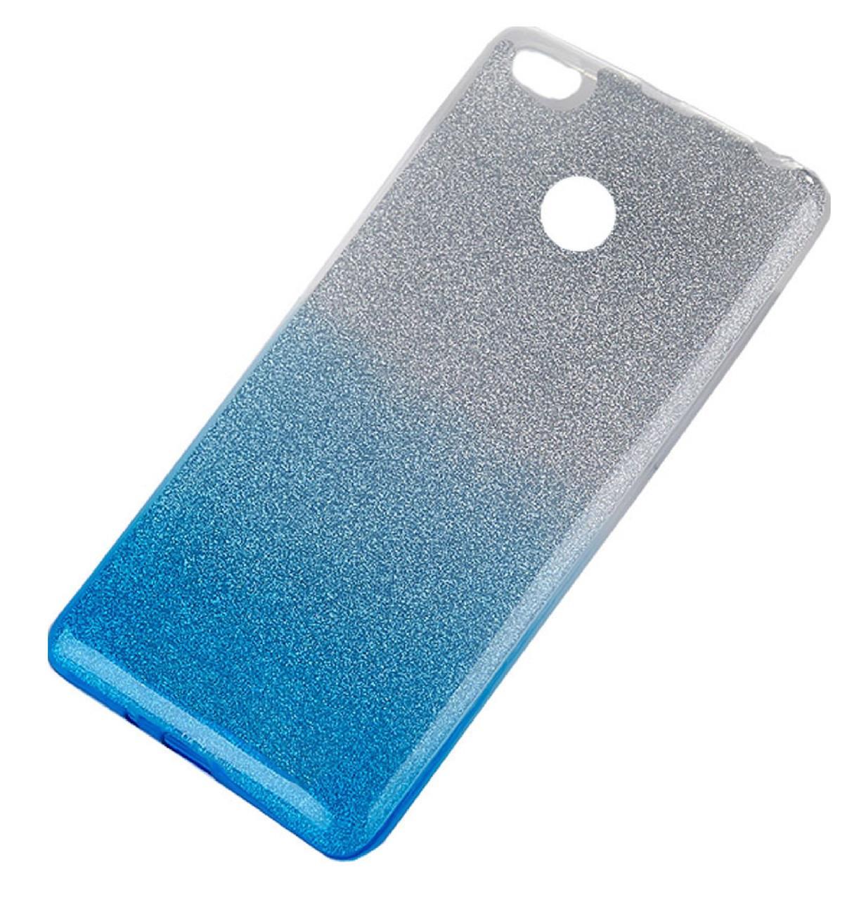 Чехол-накладка TOTO TPU Case Rose series Gradient для Xiaomi Redmi 4x Silver / Blue