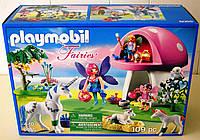 Конструктор Плеймобил Гай Фей з Єдинорогом Playmobil Fairies with Toadstool House review 6055