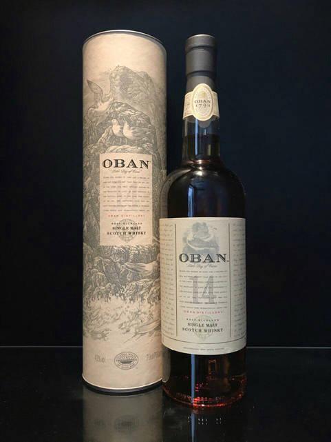 Виски Oban 14 y.o. Обан 14 лет 0,7л