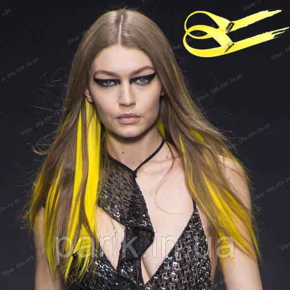 💛 Яркие цветные пряди как на подиумах от Versace 💛