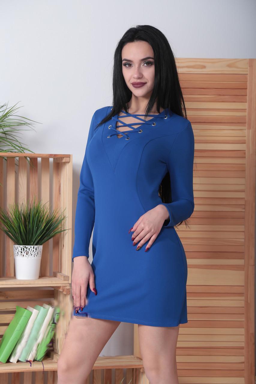 """Женское платье с люверсами """"Тереза"""""""