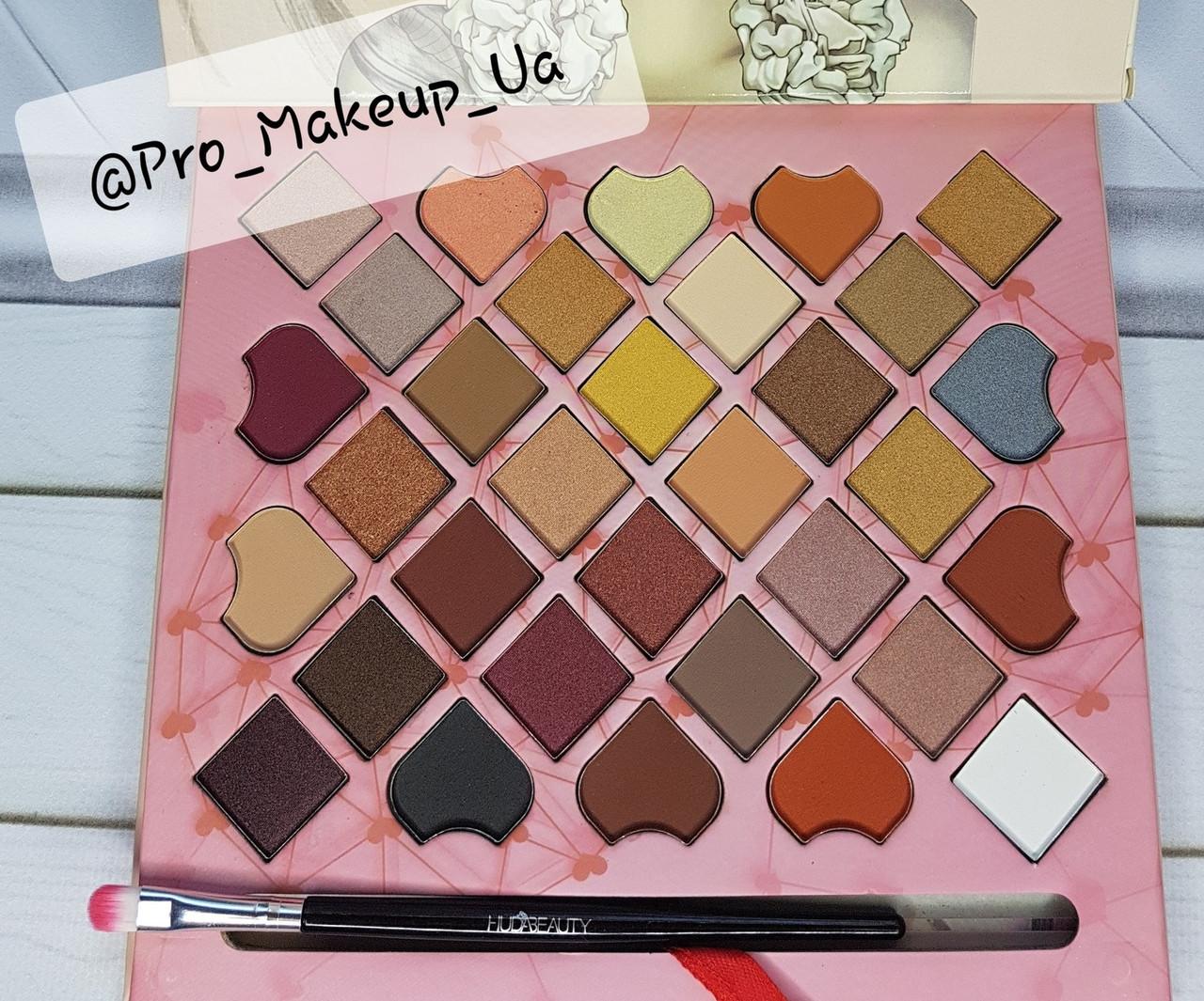 Тени для век Huda Beauty Pro-Palette 32 оттенка