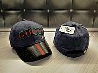 Новые Женские Брендовые Кепки Gucci VIP-Качества 100% Cotton Кепка Гуччи Для Девушки Синяя