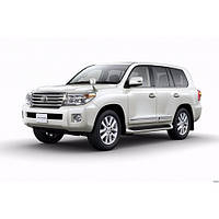 Corsar Дефлекторы окон на TOYOTA Land Cruiser 200 '07- (накладные)