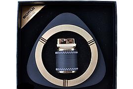 Подарунковий набір Borui 3616 Попільничка і запальничка настільна