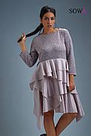 Платье женское батал  Лада, фото 1