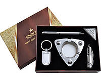 Подарочный набор Moongrass AL119 Пепельница, брелок, ручка, складной нож