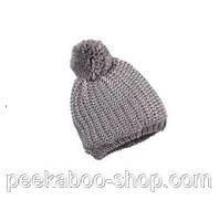 Зимняя шапка флисовая подкладка 2/5 года Lupilu Германия для девочки