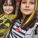 💛 Ярко желтые  пряди волос на заколках 💛 , фото 10