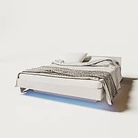 Кровать двуспальная 140 Бьянко  (Світ меблів) 1450х2065х880мм