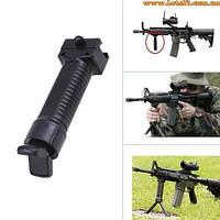 Тактическая передняя рукоятка для переноса огня + сошки (передняя ручка пистолетная с сошками)