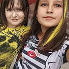 💛 Пряди цветные волос на заколках клипсах желтые 💛 , фото 10