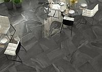 Фото интерьера Зевс Керамика Калкаре Блэк 600х600