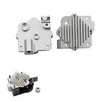 Алюминиевый сплав 1.75 мм Upgrade Titan Extruder V6 Hotend Heatsink для репресса Prusa i3 3D Printer Parts - 1TopShop
