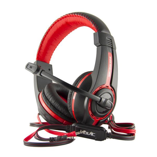 Headphone  HAVIT  HV-H2116d  black/red