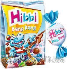 Молочный шоколад Hibbi с йогурто-клубничной начинкой Польша 170г