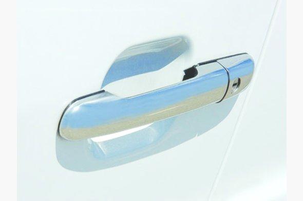 Накладки на ручки (4 шт, нерж) - Mercedes Sprinter 1995-2006 гг.