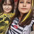 💛 Цветные  пряди волос на заколках зажимах, желтые 💛 , фото 10