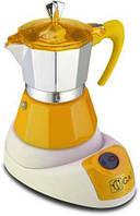 Электрическая гейзерная кофеварка G.A.T. FANTA GIALLA 4-6 TZ