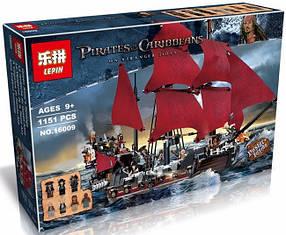Конструктор Lepin 16009 Пираты Карибского моря Месть Королевы Анны (аналог Lego Pirates of the Caribbean 4195)