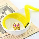 💛Цветные пряди на заколках клипсах желтые 💛 , фото 10