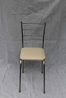 Кухонный стул Марко экожа в белом цвете