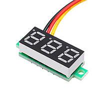 10Pcs Geekcreit® White 0.28 дюймов 3.0V-30V Миниатюрный измеритель напряжения вольтметра Voltmeter 1TopShop, фото 3
