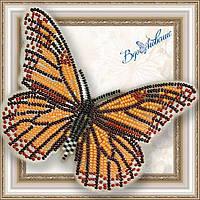 "Набор для вышивки бисером Объемная бабочка ""Данаида Монарх"" BGP-001"