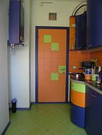 Кухни с фасадами МДФ окрашенными