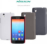 Чехол для Lenovo S960 Vibe X - Nillkin Super Frosted Shield (пленка в комплекте)
