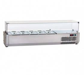 Витрина холодильная для пиццы наст. Apach VR3 140VD