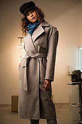 Осеннее женское пальто-тренч