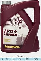 Антифриз червоний концентрат Antifreeze AF-12 5L