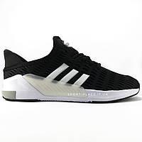 Мужские кроссовки Adidas Climacool Black&White (лицения)