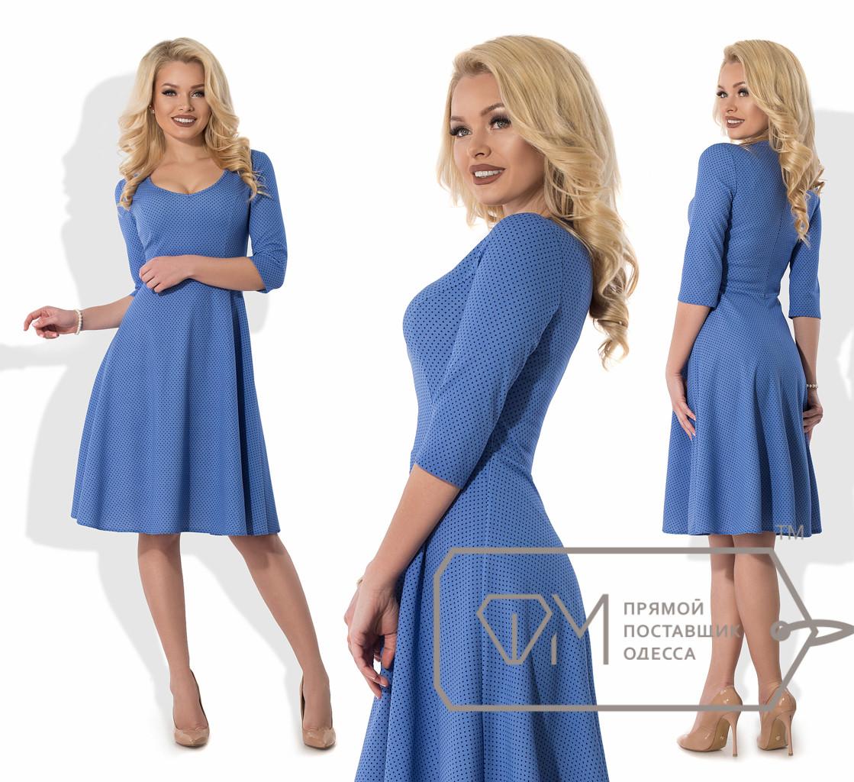 05fe70dda0a39e8 Элегантное женское платье средней длины 8051