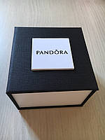 Подарочная упаковка - коробка для часов Pandora (Пандора), черный с белым