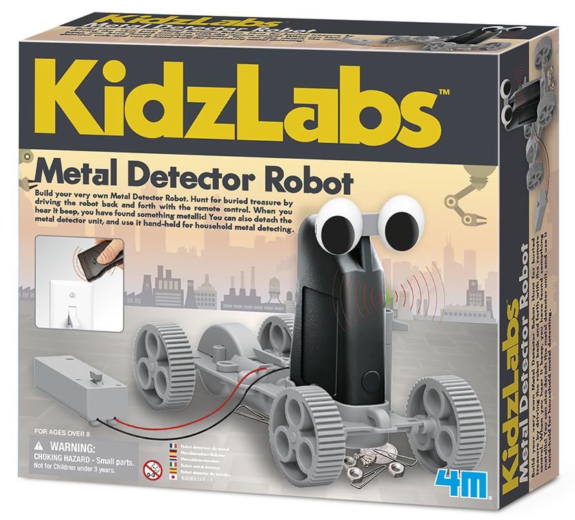 Набор для опытов Робот-кладоискатель 4M (00-03297)