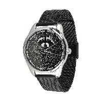 Дизайнерские металлические часы Енот (5012289)
