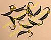Блешня вольфрамова Bravo 1825B-BN 2,5 мм 0,68 гр. Супер банан з вушком фарбований