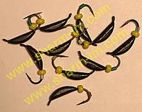 Мормышка вольфрамовая Bravo 1825B-BN 2,5 мм 0,68 гр. Супер банан с ушком крашенный